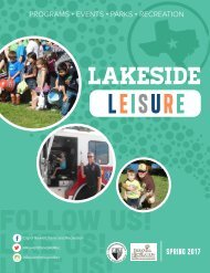 Lakeside Leisure Spring Final Flip