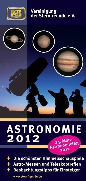 Astronomie ist unsere Passion – Schon seit 50 Jahren!