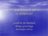 Com expressa la dona la violència?