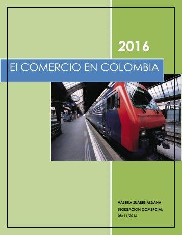 EL COMERCIO EN COLOMBIA