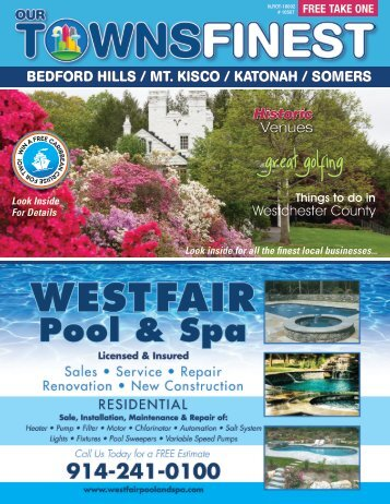 Bedford Hills / Mt Kisco / Katonah / Somers, NY 10507