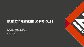 Hábitos y Preferencias musicales