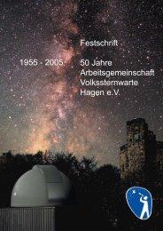 Festschrift 50 Jahre Arbeitsgemeinschaft Volkssternwarte Hagen eV ...