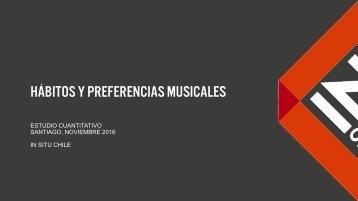 Hábitos y Preferencias musicales