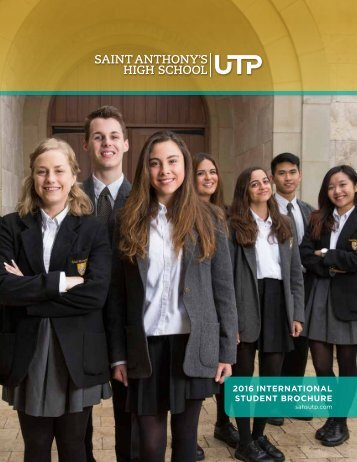 SAHS International Student Brochure 2016
