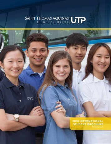 STHS International Student Brochure 2016