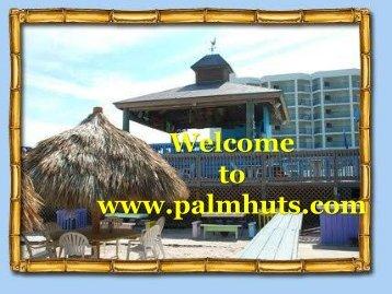 Stylist Tiki Huts and Tiki Bars in South Florida