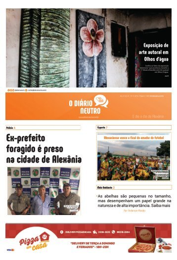 o diário neutro - edição 01 outubro 2016 - 100% curvas