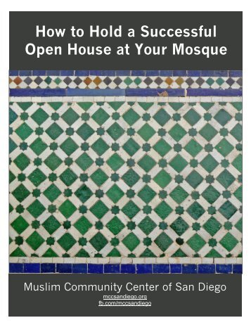 How to Hold a Successful Open House at Your Mosque
