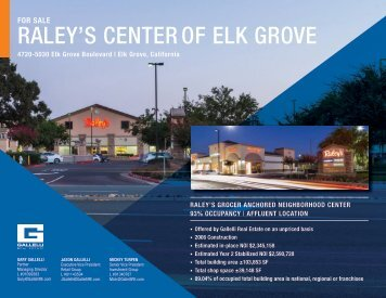RALEY'S CENTER OF ELK GROVE