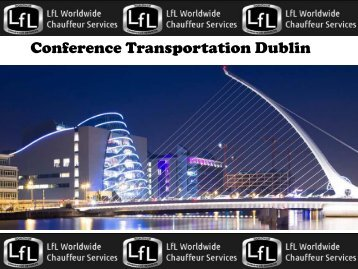 Conference Transportation Dublin