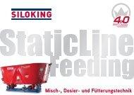 Prospekt SILOKING StaticLine Feeding DE