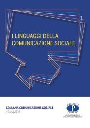 I LINGUAGGI DELLA COMUNICAZIONE SOCIALE