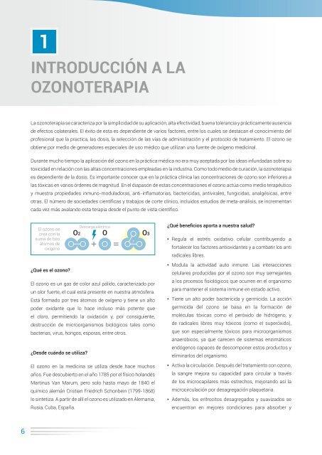 Para que sirve el ozono en medicina