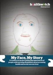 My Face My Story