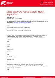 Smart Grid Networking Sales Market
