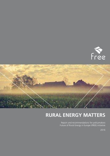 RURAL ENERGY MATTERS
