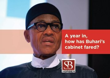 A year in how has Buhari's cabinet fared?