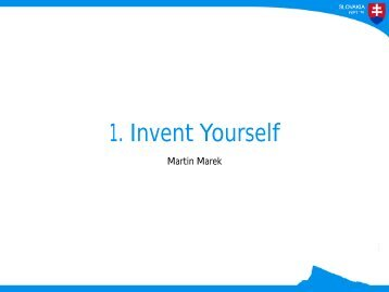 1 Invent Yourself