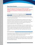 Managed Security Services Market Global Size - Page 2