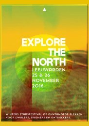 Explore the North programmagids 2016
