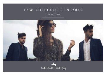 ORONERO - AW Collection 2017