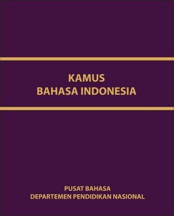kamus bahasa indonesia - Campuscemara