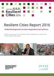 Resilient Cities Report 2016