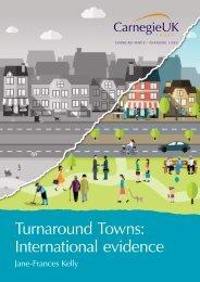 Turnaround Towns International evidence
