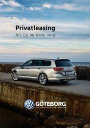 VW Göteborg - Guide Konsumentleasing 161011
