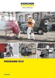 KÄRCHER Professional Katalog 2016