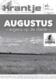 krantje 43-2 Augustus, ergens op de vlakte