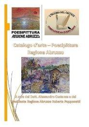 Catalogo Poesipittura Regione Abruzzo con cover