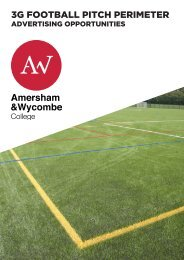 3G FOOTBALL PITCH PERIMETER