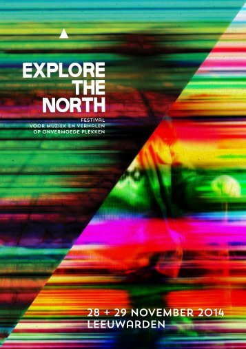 Explore the North programmagids 2014