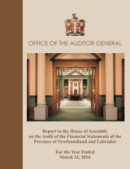 OFFICE OF THE AUDITOR GENERAL