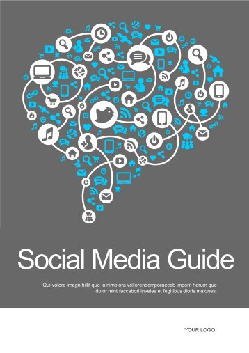 EBook 1 Template - social media