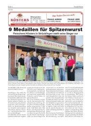 Kösters | Bürgerspiegel