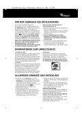 KitchenAid KRMC Stuttgart - Refrigerator - KRMC Stuttgart - Refrigerator DE (855063901030) Istruzioni per l'Uso - Page 2