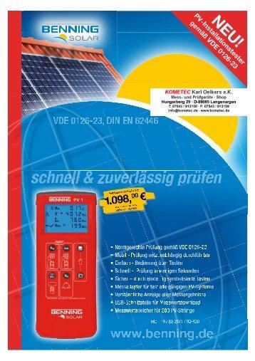 PDF-Datenblatt - KOMETEC, Online-Shop für Mess