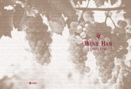 Wine Bar - MSC Cruises