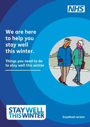 We are here to help you stay well this winter