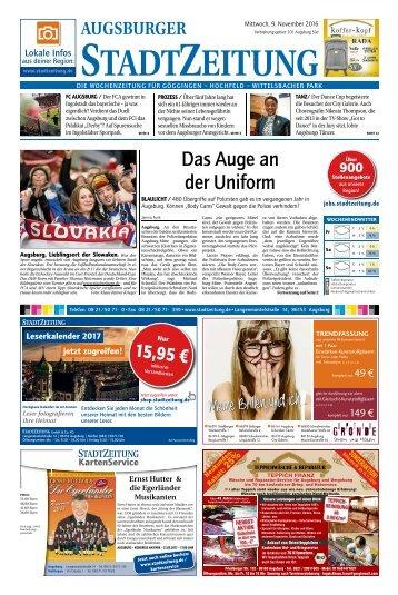101 Augsburg - Süd 09.11.2016