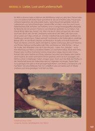 Liebe, Lust und Leidenschaft MODUL 3 - arthur