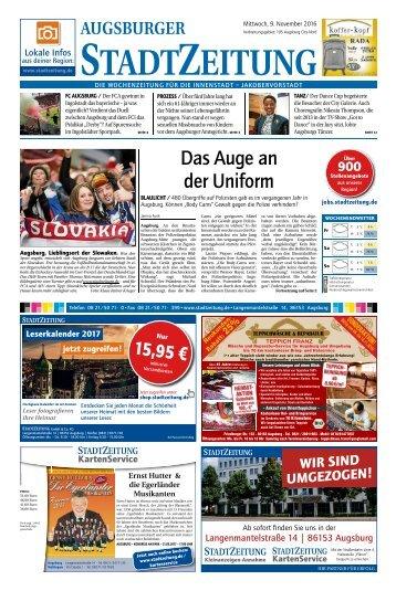 105 Augsburg - City 09.11.2016