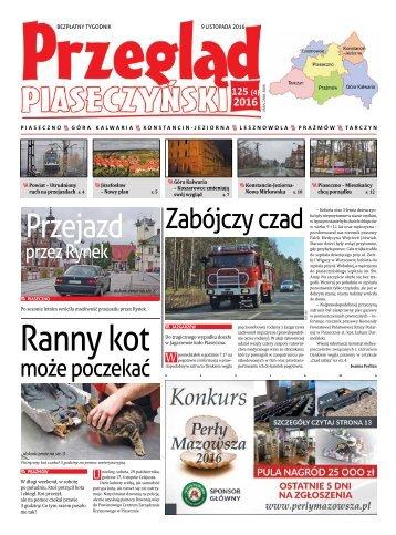 Przegląd Piaseczyński, Wydanie 125