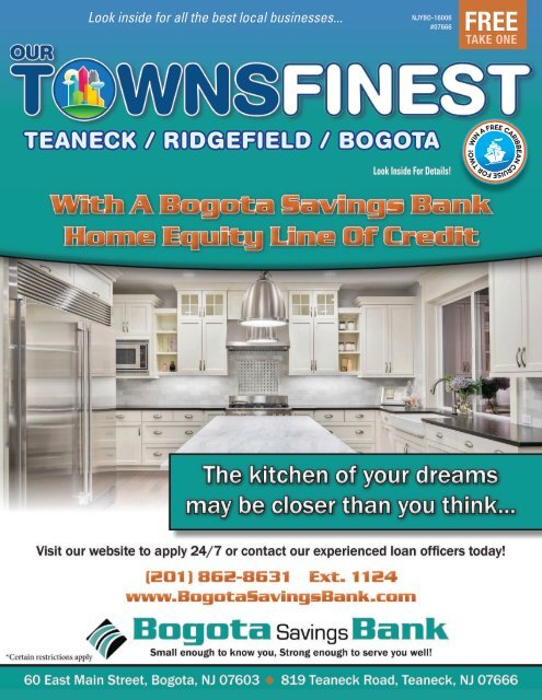 Teaneck / Ridgefield / Bogota, NJ 07666