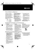 KitchenAid UVIE 1400/A - Refrigerator - UVIE 1400/A - Refrigerator FR (855066701000) Istruzioni per l'Uso - Page 2
