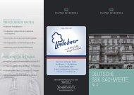DEUTSCHE S&K SACHWERTE - Karl-Heinz Lindebner GmbH