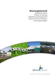 Bioenergietechnik - STULZ H+E Group